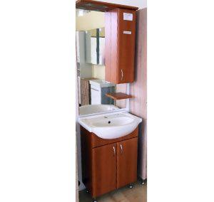 Fürdőszobabútor (szélesség: 55cm, 52.100,-Ft mosdókagylóval)