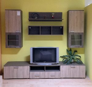 Nappali szekrénysor (szélesség: 260cm, 127.250,-Ft)